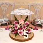 centro de mesa,decoración,boda,arte floral, novia,wedding planner,original, flores